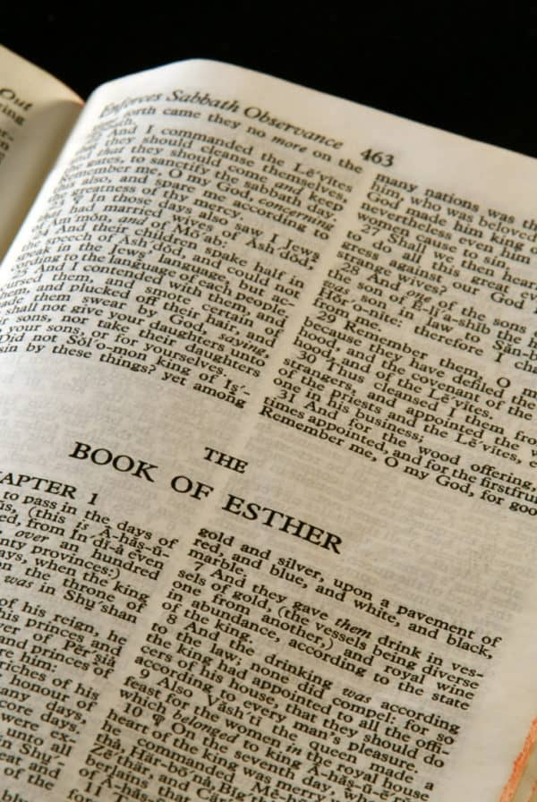 The Old Testament book of Esther