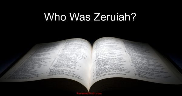 Who was Zeruiah?