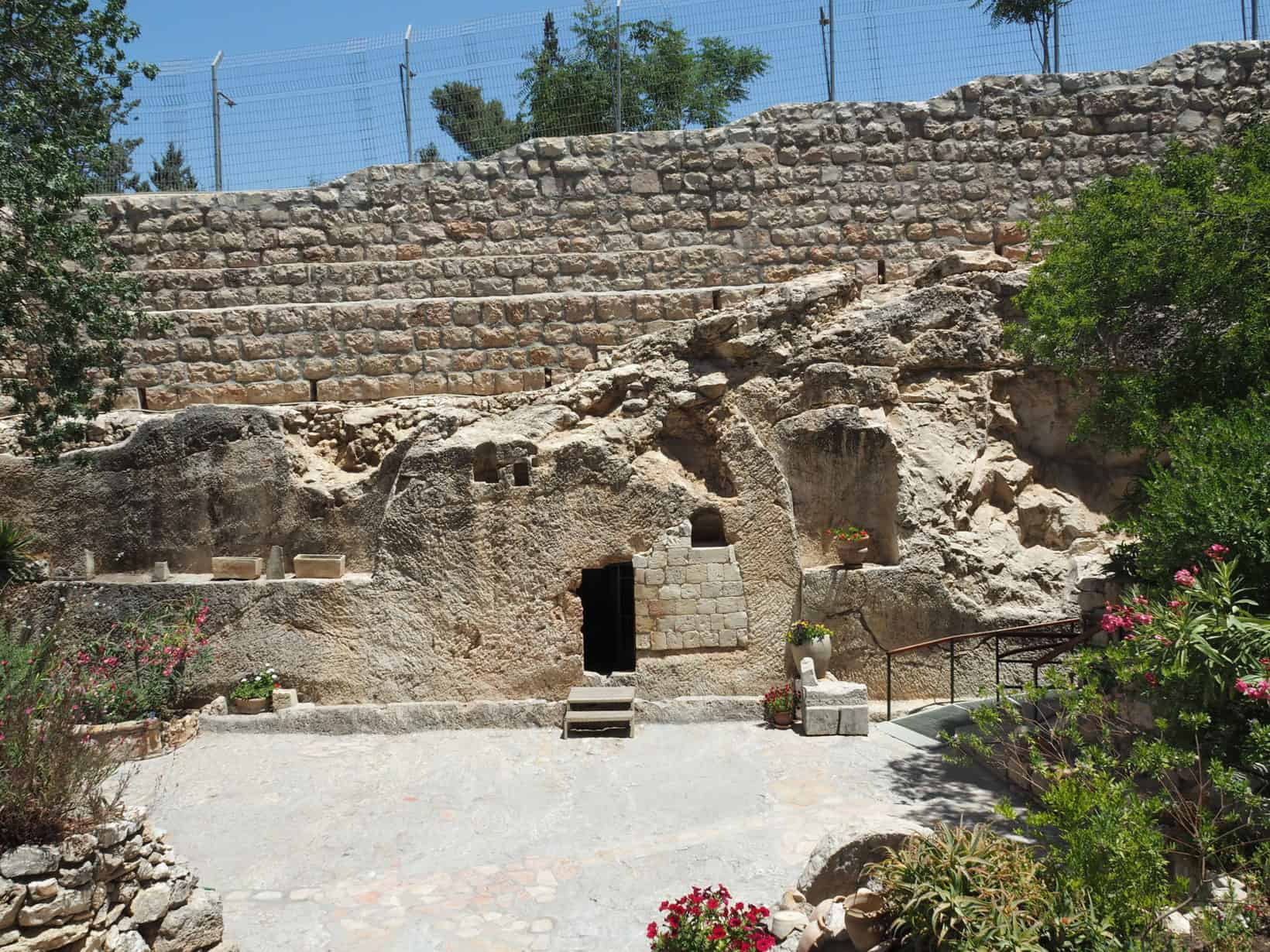 The Empty Garden Tomb in Jerusalem