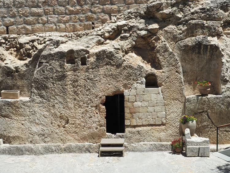 The Garden Tomb in Jerusalem is Empty