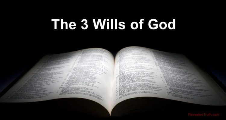 The 3 Wills of God