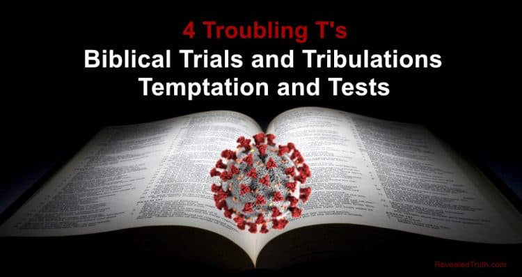 Biblical Trials and Tribulations, Temptation and Tests