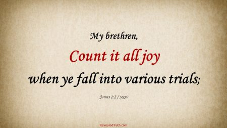 James 1:2 Count Trials and Testing All Joy
